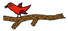 red bird on branch.jpg
