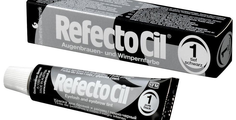 Краска для бровей и ресниц RefectoCil 1 черный
