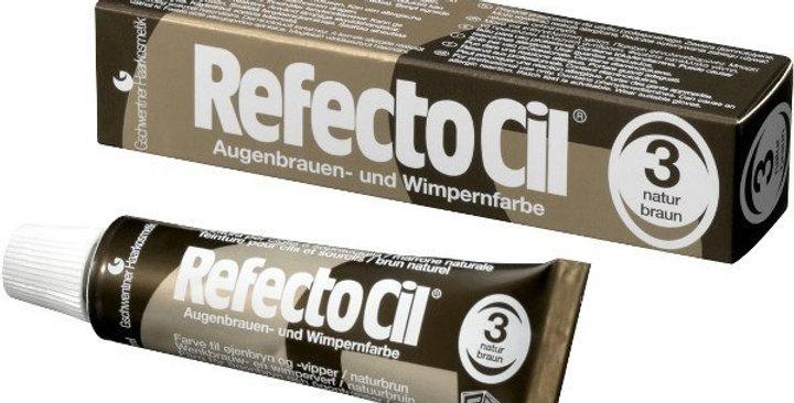Краска для бровей и ресниц RefectoCil 3 Натурально- коричневый