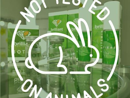 Наши продукты фирмы ShineE не тестируется на животных