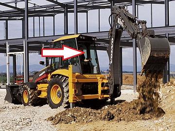 Стекло для экскаватора погрузчика Volvo BL61 экскаватора погрузчика Volvo BL71 стекло заднее