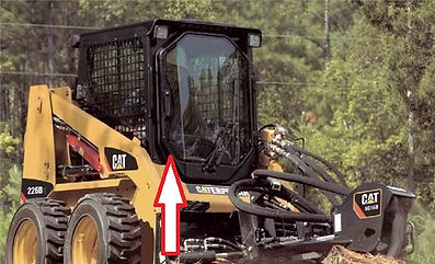 Стекло для мини-погрузчика Caterpillar 216B | Стекло для мини-погрузчика Caterpillar226B | Стекло для мини-погрузчика Caterpillar232B | Стекло для мини-погрузчика Caterpillar236B Series 2