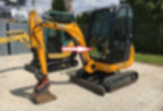 Стекло лобовое нижнее для мини экскаватора JCB 8018 cts