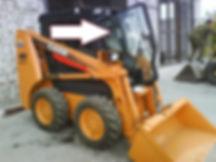 Стекло для мини-погрузчика CASE SV 250V|CASE SV 250C|CASE SR 130|CASE SR150|CASE SR175|CASE SR185|CASE SR220|CASE SR250|CASE SV 300|CASE 410 Series3 стекло дверь| CASE 410 Series 3 стекло 87722341 CNH |