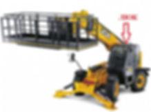 Стекло для телескопического погрузчика JCB Loadall 540 - 140 люк  | 827/80226 |82780226