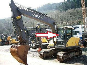 Стекло для экскаватора Volvo EW 140 b | экскаватор Volvo EW 145 b | экскаватор Volvo EW 160 b | экскаватор Volvo EW 180 b | экскаватор Volvo EC 180 Blc | | экскаватор Volvo EC 210 Blc | |экскаватор Volvo EC 240 Blc ||экскаватор Volvo EC  290 Blc | |экскаватор Volvo EC 460 Blc стекло лобовое верхнее Стекло экскаватор гусеничный(колёсный) Volvo Ec 160/Ew 160