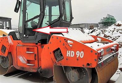 Стекло дверное левое нижнее каток Hamm HD 90 ,Стекло дверное левое нижнее каток Hamm HD 110, Стекло дверное левое нижнее (закаленное)
