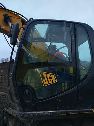 Установка стекла JCB JS 220