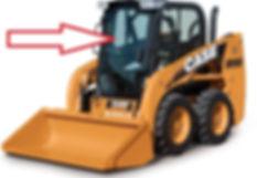 Стекло для мини-погрузчика CASE SV 250V|CASE SV 250C|CASE SR 130|CASE SR150|CASE SR175|CASE SR185|CASE SR220|CASE SR250|CASE SV 300|CASE 410 Series3 стекло дверь | case sr 150 84344565 |