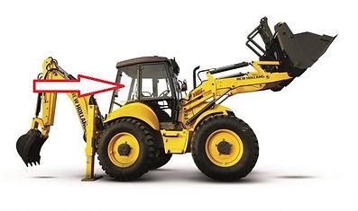Стекло для экскаватора погрузчика New Holland LB 115 | Стекло для экскаватора погрузчикаNew Holland B 110B | Стекло для экскаватора погрузчикаNew Holland B 100B | Стекло для экскаватора погрузчикаNew Holland B 90B |Стекло для экскаватора погрузчика New HollandB 115B | стекло кузовноезаднееправоес отверстиями(закалённое) | стекло 85801628