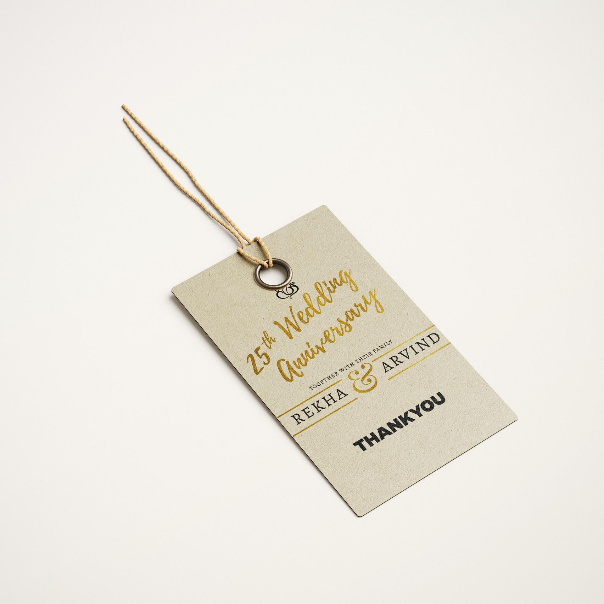 Return Gift tags