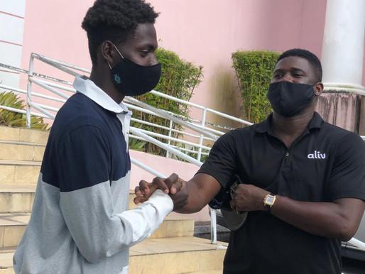 Entrepreneur Marvin Joseph paid his $800 fine