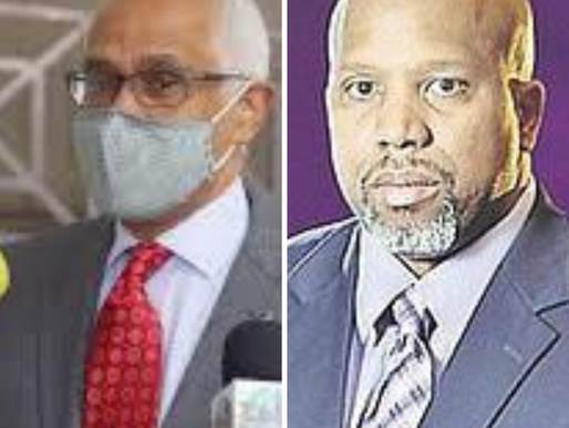 Wealthy businessmen raiding Public Treasury
