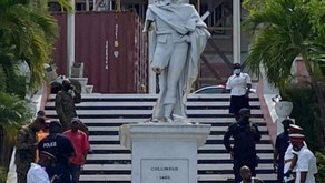 Psychiatric evaluation for man who vandalized Columbus statue