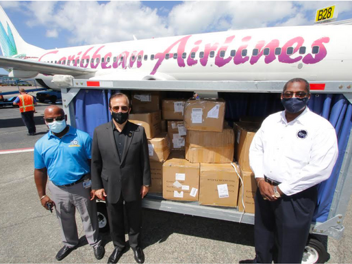 HUMANITARIAN SUPPLIES DONATED TO THE GOVERNMENT