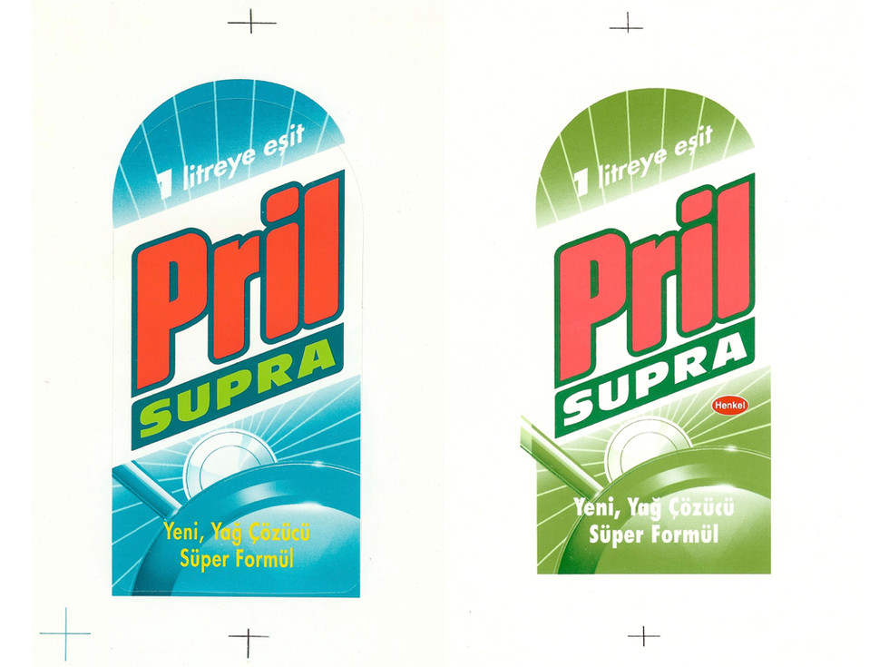 Packaging Design for Pril Dish Soap