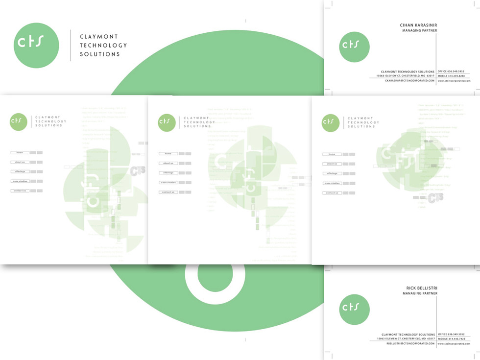 Branding for Claymont Technology Solutions