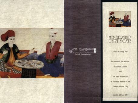 Certificate Design for Gourmet Club