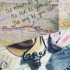 Travel. As much as you can. As far as yo