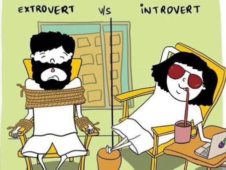 Distanciamiento Social - La diferencia entre ser introvertido y extrovertido