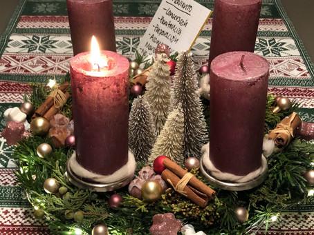 Preparándome para Navidad - Primer Adviento