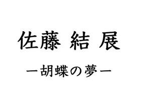 佐藤 結 展―胡蝶の夢