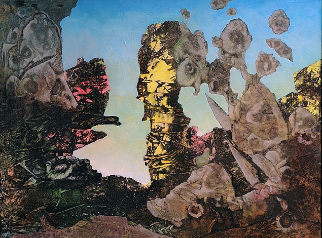 AdamCooley「Fairyland at Dawn」 61.0×45.7㎝