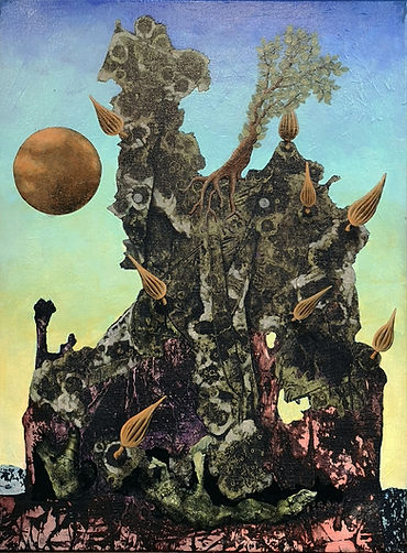 AdamCooley「Sleeping-Giants」-45.7×61.0㎝-2