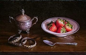 小森隼人「Strawberries」41.6×27.0cm-2019-Trio-
