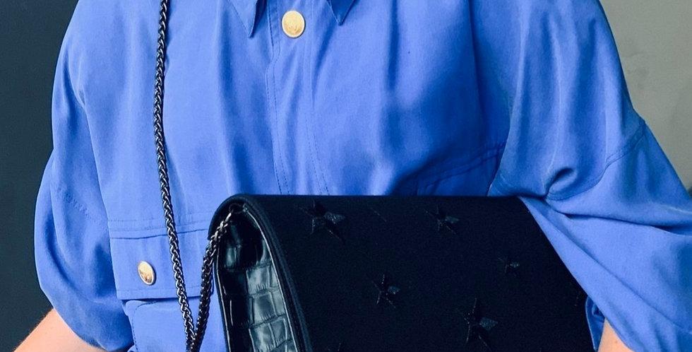 Chanel Grande con Ricamo e stampa Coccodrillo Eco-pelle