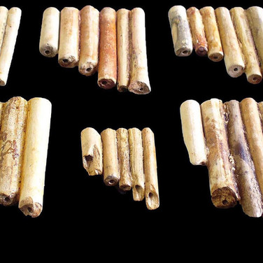 PANPIPES FOR 17th CENTURY SMOKERS