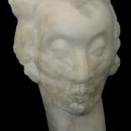 ALABASTER HEAD