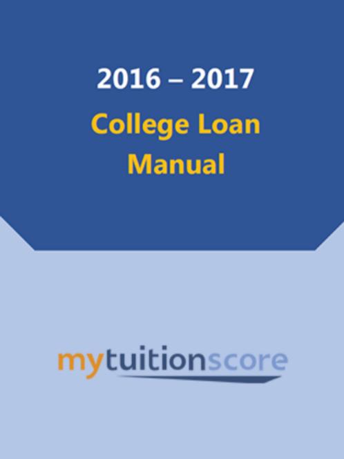College Loan Manual - Report
