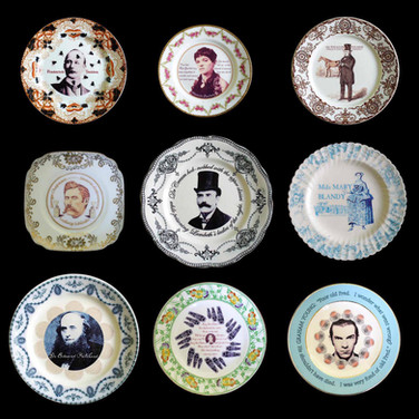 NINE LIVES (poisoners' plates)