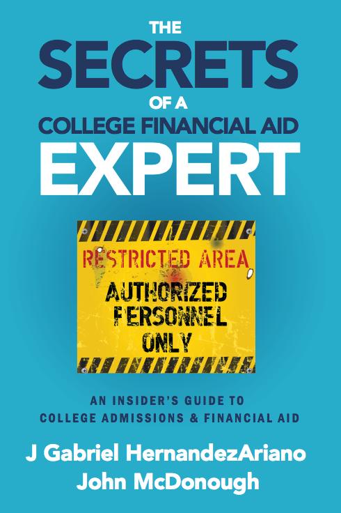 Secrets of a Financial Aid Expert - Book