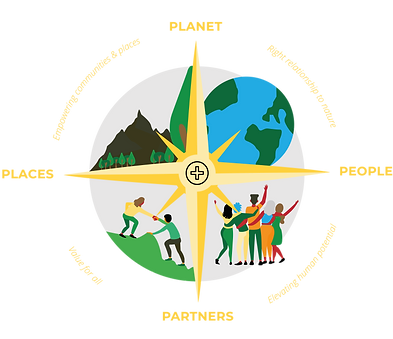 Illustration_Positive Compass_Yellow_2 (