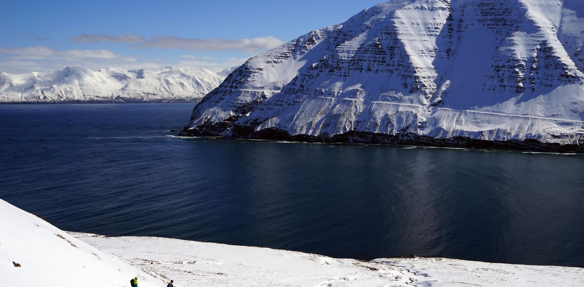 Face au fjord