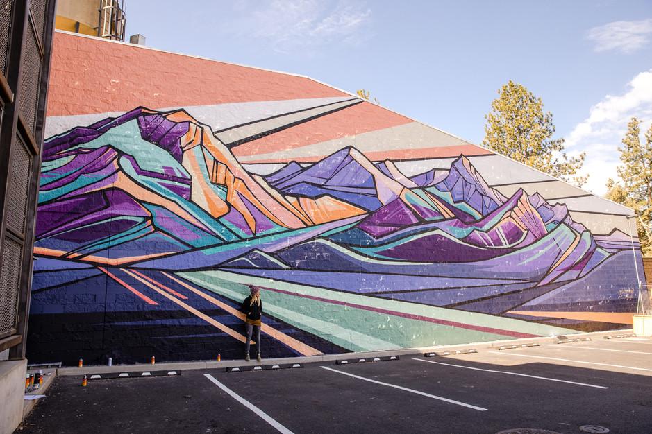 Three Sisters Mural