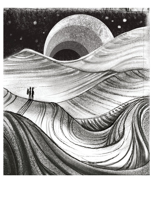 ROAM Giclee Art Print