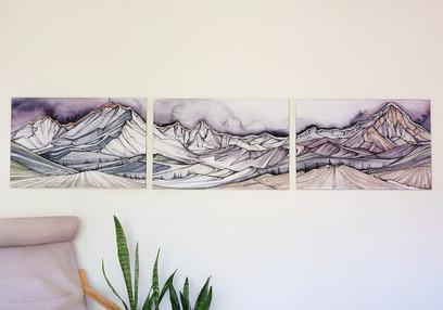 Thunderheads Triptych