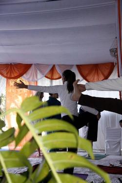 Aula de Yoga Ma Ganga Retreat