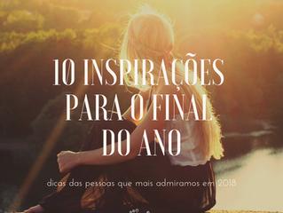 10 inspirações para o final do ano