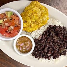 Black Beans & Rice Peasant Plate