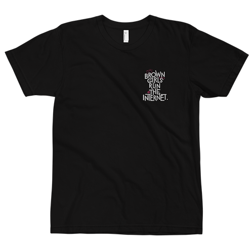 Signature T-Shirt w/Embroidery (Black)