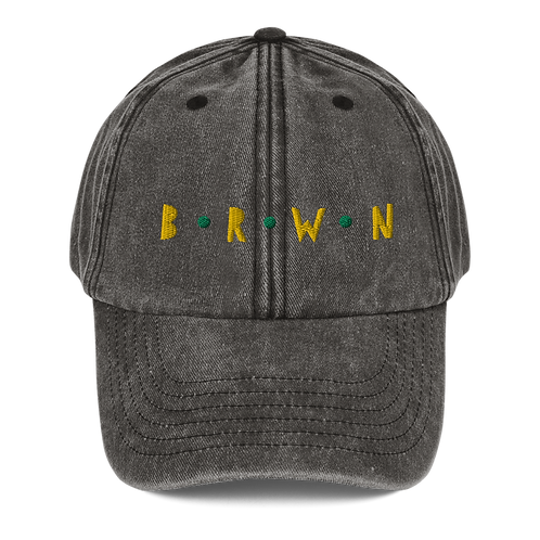 BRWN Denim Cap