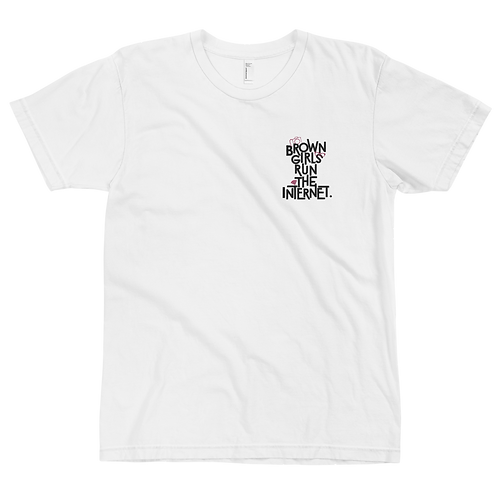Signature T-Shirt w/Embroidery (White)