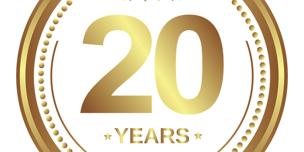 20th Anniversary in 2020