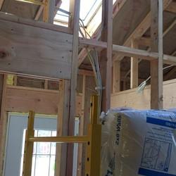 Insulation in Rockaway addition