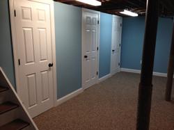 Bathroom, utilities and laundry room