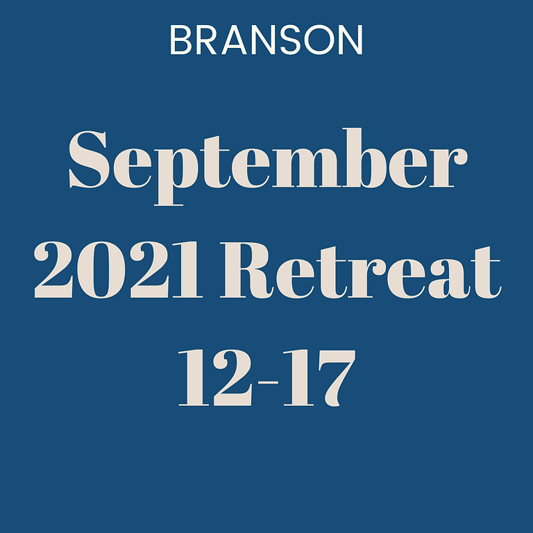 September 2021 Retreat